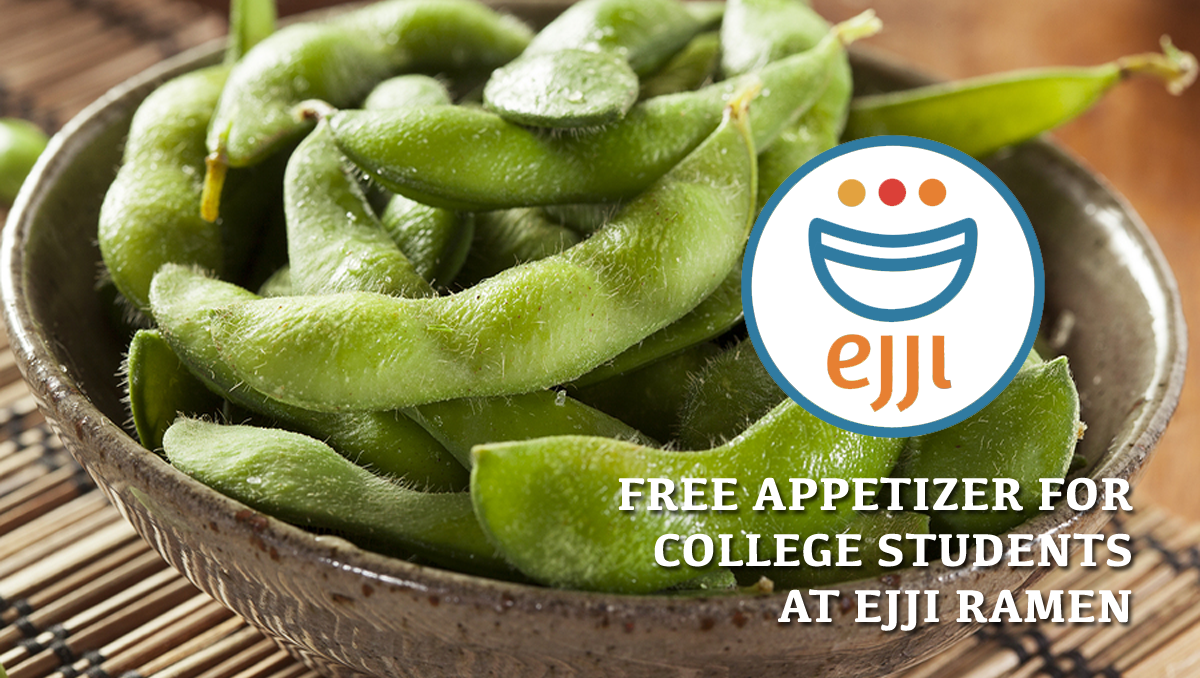 Free appetizer for Baltimore college students